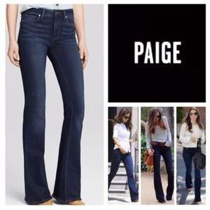 PAIGE Cameron High-Rise Bell Canyon Flare Jeans